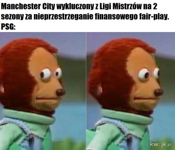 Wilk syty i Manchester City