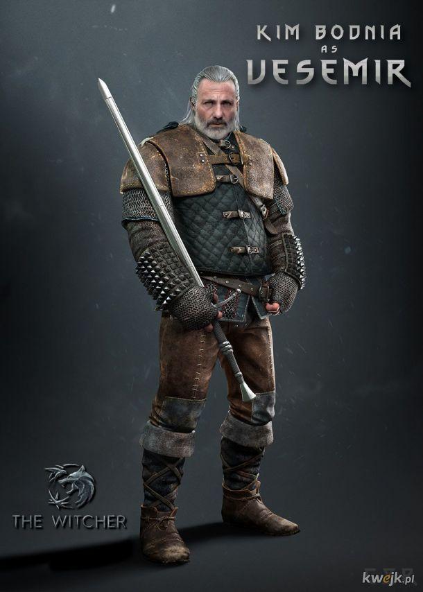 KIM BODNIA jako Vesemir | Witcher/Wiedźmin Netflix