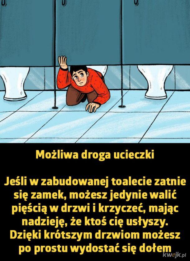 Dlaczego drzwi w publicznych toaletach są takie krótkie?, obrazek 7