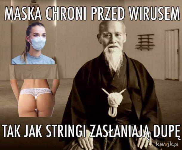Maski jak stringi