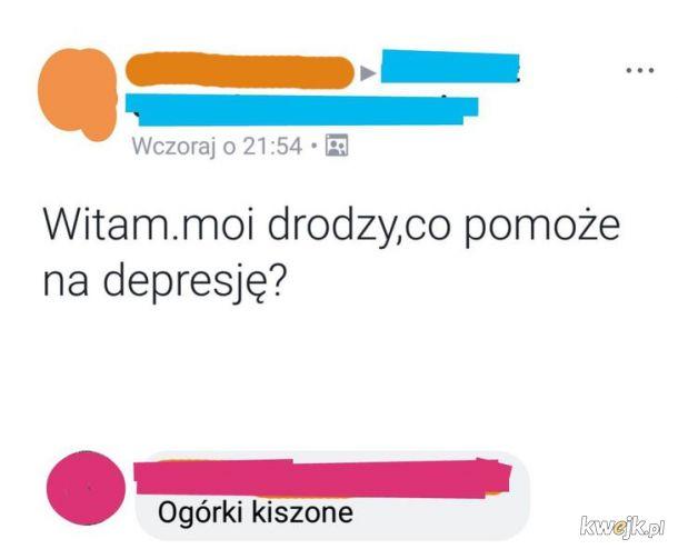 Co na depresję