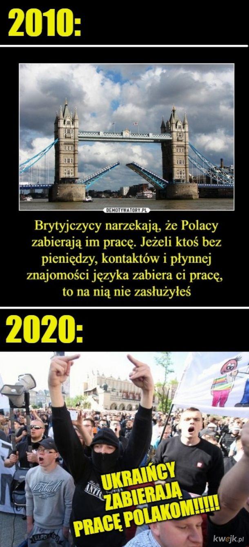 Wychodzi na to, że Polacy nie zasługują na pracę w PL