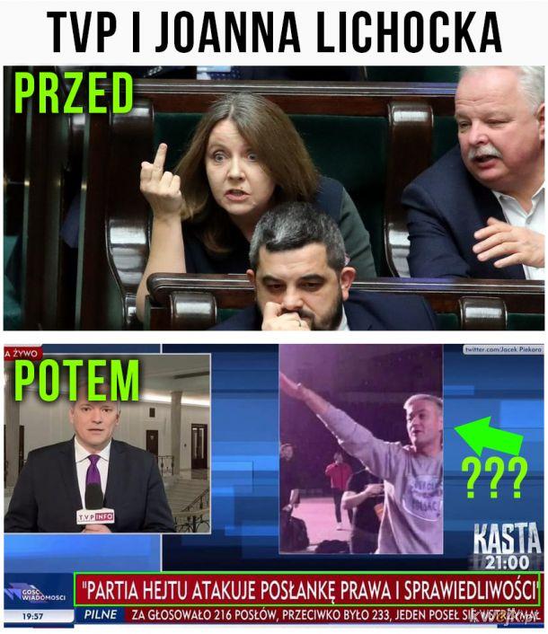 TVP, Lichocka i współczesne dziennikarstwo XD