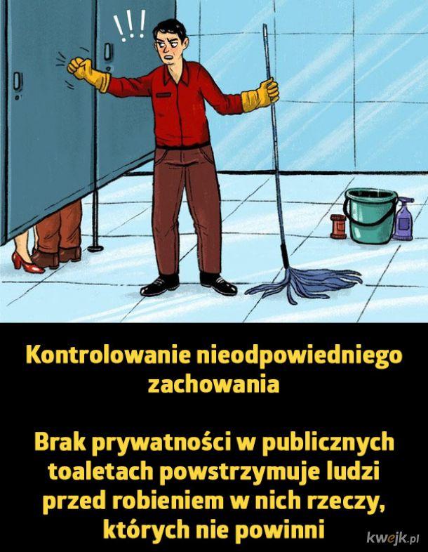 Dlaczego drzwi w publicznych toaletach są takie krótkie?, obrazek 3