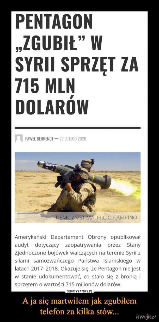 A podobno to Ruscy na lewo sprzedają uzbrojenie...