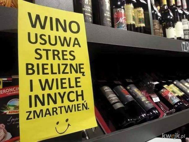 Wino zawsze spoko