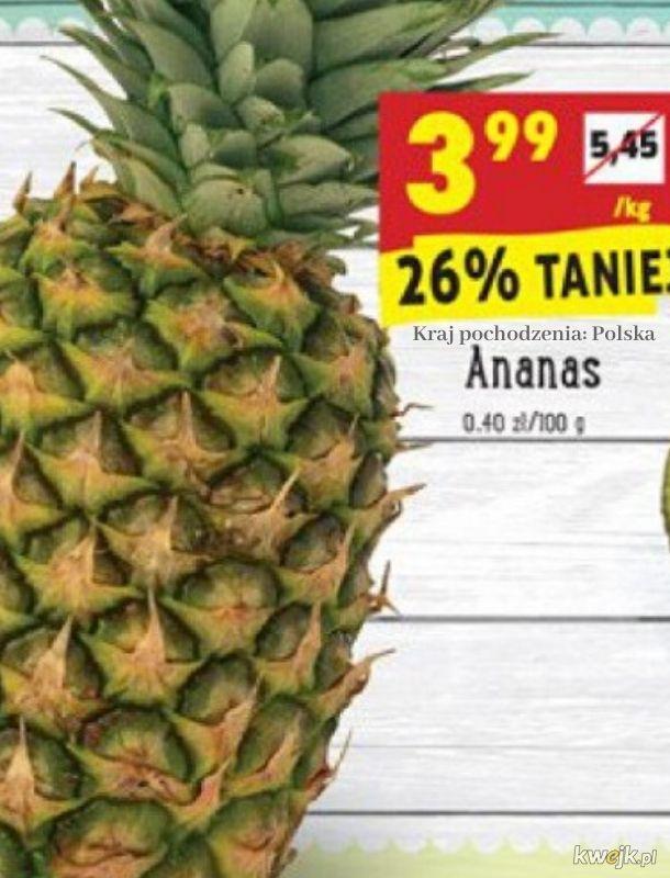 Ach, te polskie ananasy!