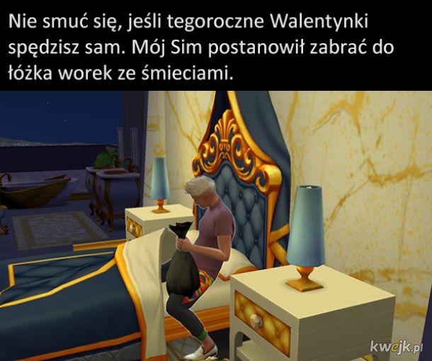 Memy z The Sims z okazji 20-lecia gry