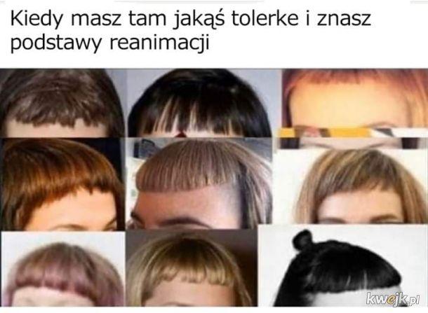 Wymowna fryzura
