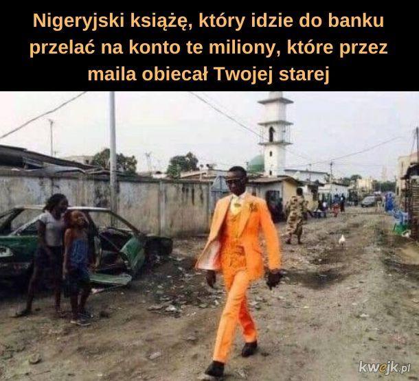 Nigeryjski książę