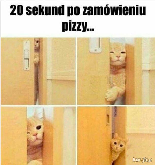 Po zamówieniu pizzy