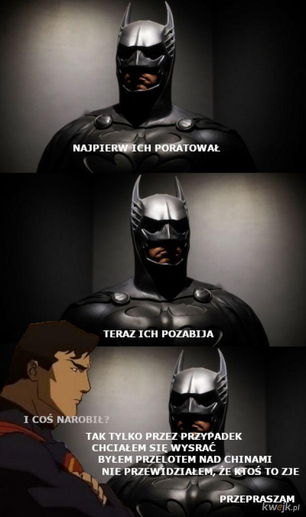 Zawstydzony Batman