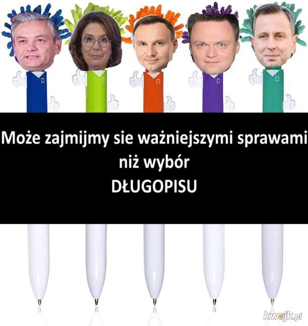 Wybór długopisu