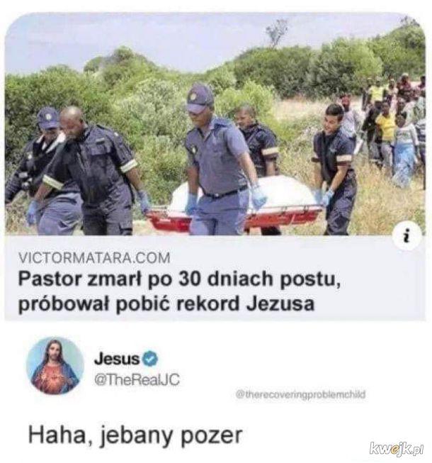Jezus w formie xd