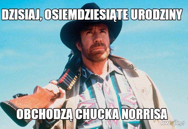Ciekawostki o Chucku Norrisie