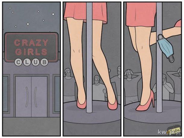 Szalone laski strip club