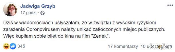 Koronawirus już w Polsce - najlepsze memy i reakcje internautów