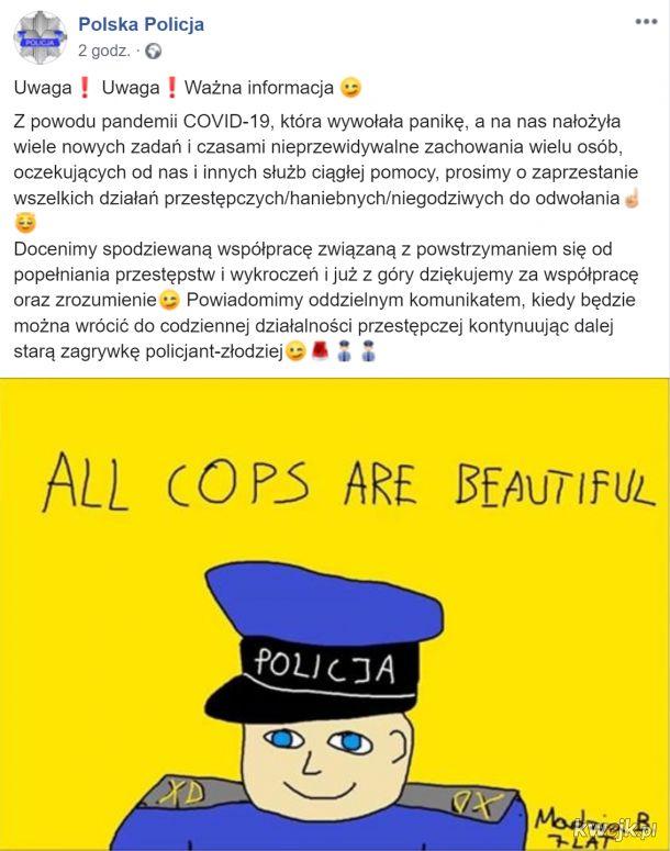 Policja apeluje xD