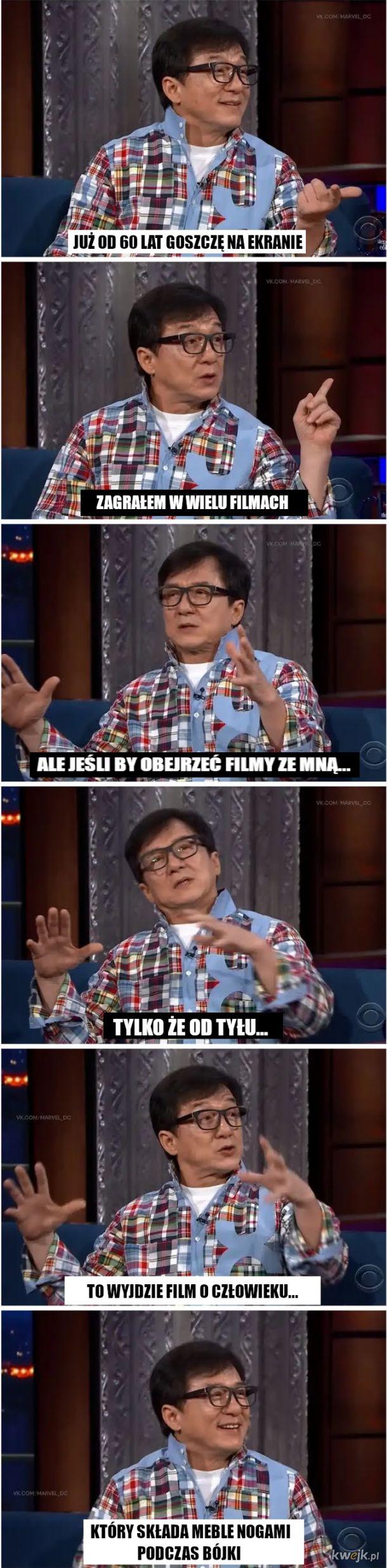 Jackie Chan, znany aktor