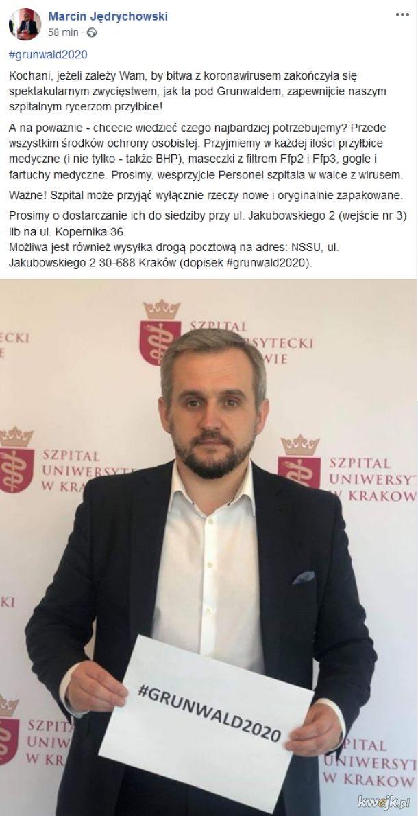 Największy szpital w Polsce prosi o wsparcie!