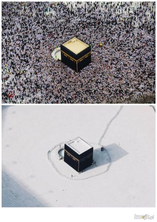 Mekka wczoraj i dziś...