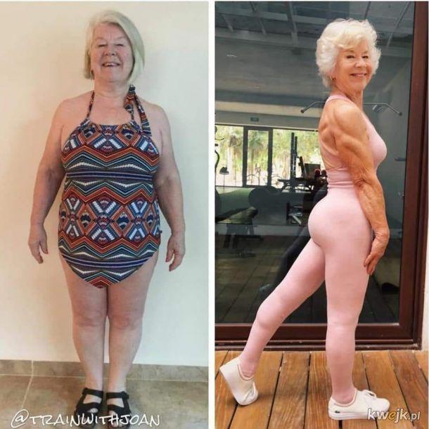 Zaczęła kiedy miała 70 lat, a teraz ma 73...! To jest inspiracja...!