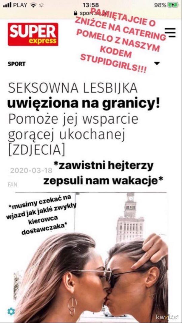 Problemy seksownych lesbijek