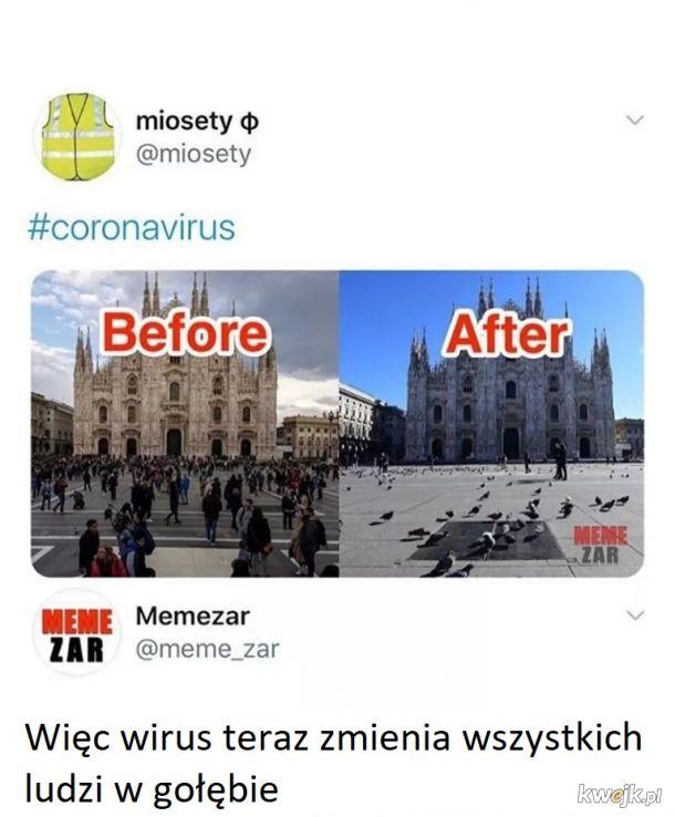 Nowe objawy coronavirus'a