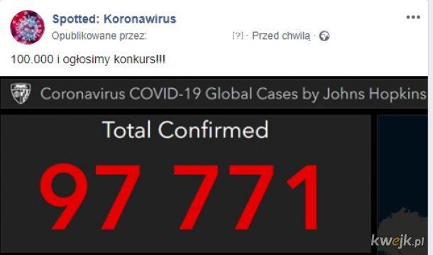 Spotted: Koronawirus