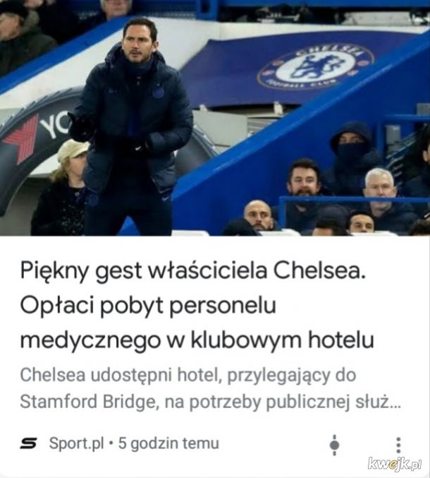 Brawo Chelsea, brawo Abramowicz