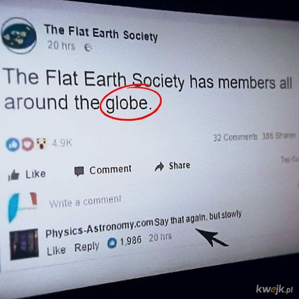 Płaska ziemia