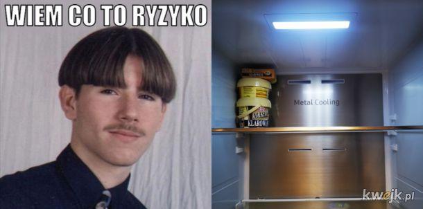 Gdy w lodówce tylko masło i światło, a koronawirus puka do drzwii!