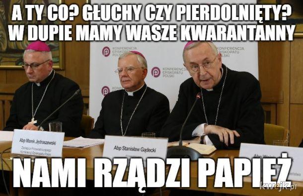 Co to za zamykanie kościołów?