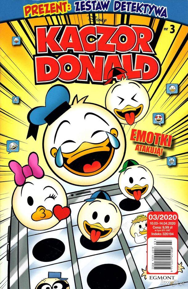 Kaczor Donald 2020-03 już w sprzedaży !