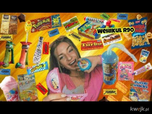 Kultowe Słodycze z lat 90 tych i 2000