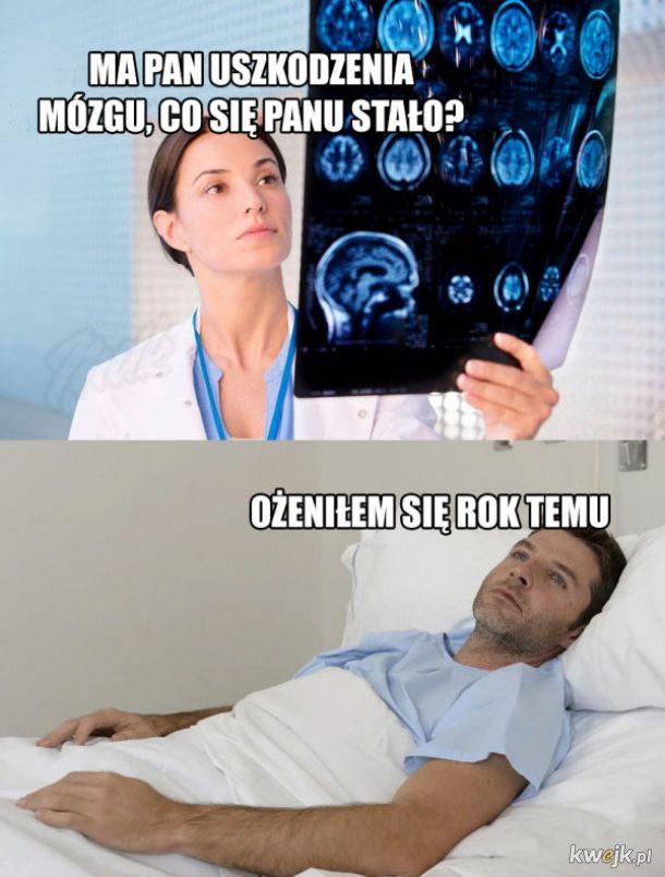 Uszkodzenia mózgu