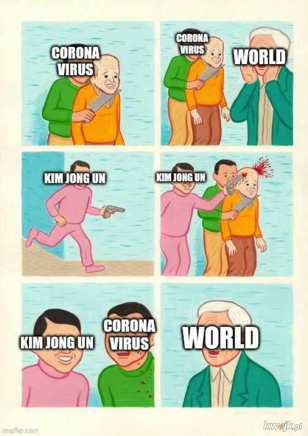 Tymczasem w Korei Północnej ...
