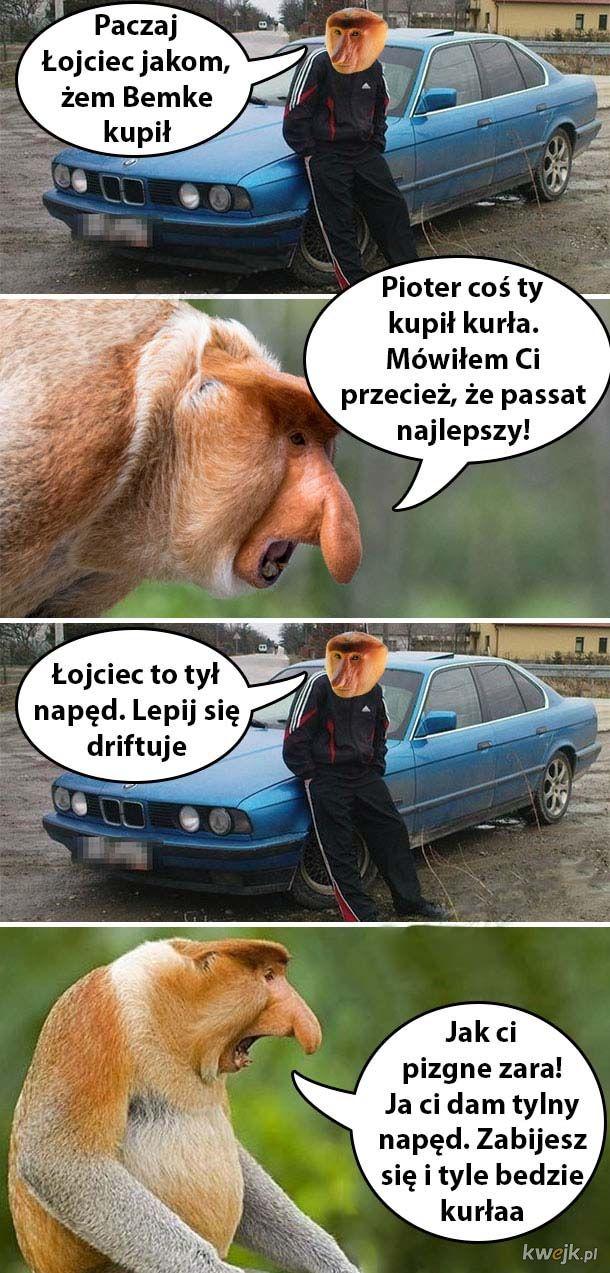 Nowe auto Piotera