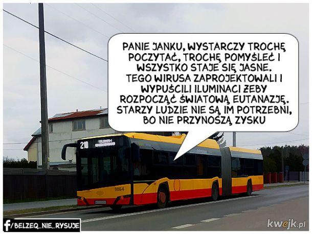 Pan Janusz przejrzał plany Iluminatów