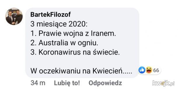 2020 rok w pigułce