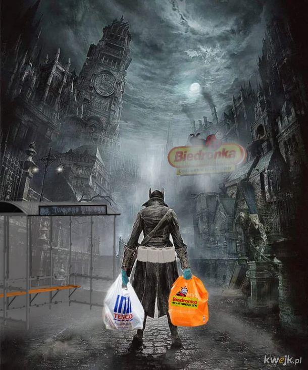 Wychodzenie na zakupy podczas kwarantanny