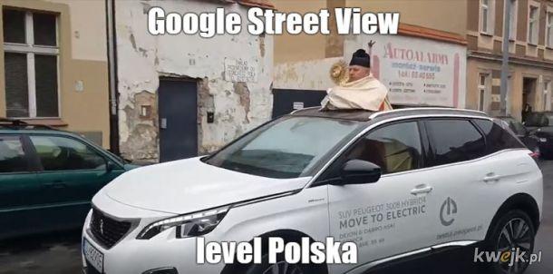 Google Street View Polska
