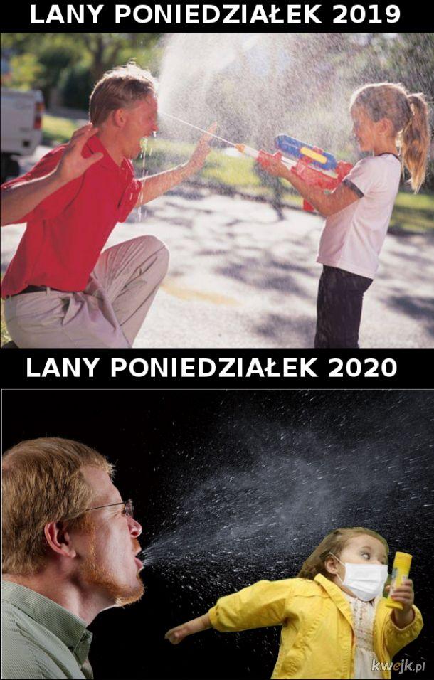 Lany Poniedziałek 2020