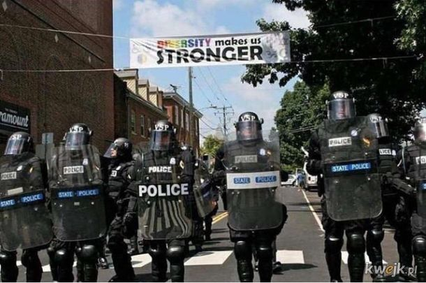 Siła w jedności, jedność w różnorodności.