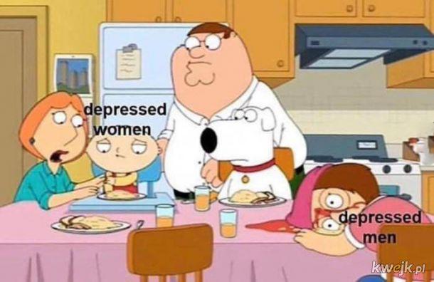 Depresja depresji nierówna