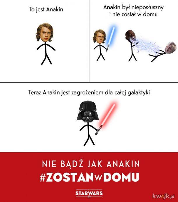 Nie bądź jak Anakin