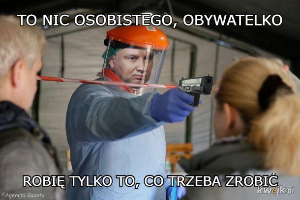 Nie dopuści, żeby Polska znalazła się znowu na klanach przez jakiś wirus