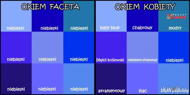 Dwa punkty widzenia - kolory