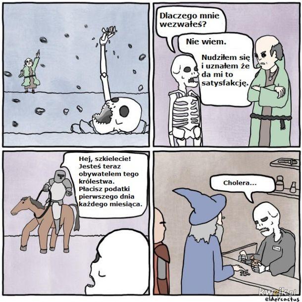 Pewne są tylko śmierć i podatki