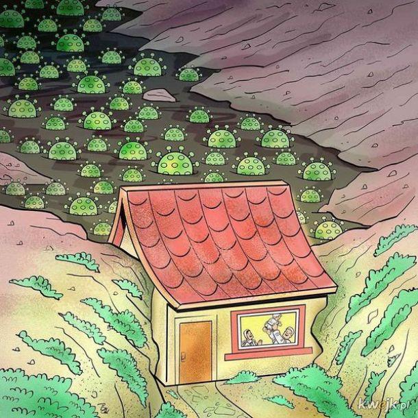Irański artysta Alireza Pakdel przedstawia grafiki, które oddają hołd służbom walczącym z koronawirusem, obrazek 14